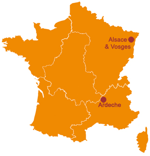 Map Of France With Mountains.France Horse Riding Tours In The French Mountains Alps Auvergne