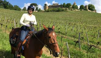 RIDE IN FRANCE - Oenologic ride through Bordeaux vineyards