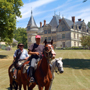 Horseback riding tours in France