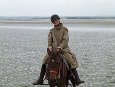 RIDE IN FRANCE - Riding in the Mont Saint Michel Bay