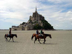 RIDE IN FRANCE - Around the Mont Saint Michel on horseback