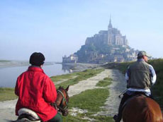 RIDE IN FRANCE - Path to the Mont Saint Michel