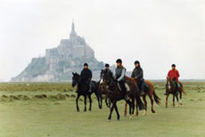 RIDE IN FRANCE - Riding to the Mont Saint Michel