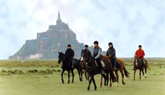 RIDE IN FRANCE - Ride around the Mont Saint Michel Bay